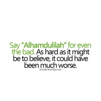 Wisdom: Alhamdullilah