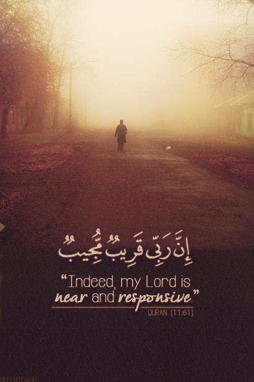 Quran  Allah is NearQuran Quotes In Arabic