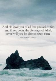 Surat Ibrahim: Allah's blessings