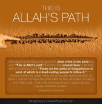 Hadith: Allah's path