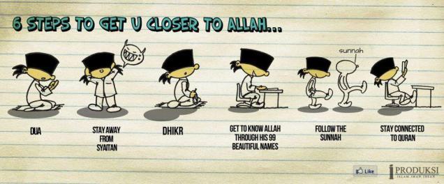 Closer to Allah