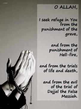 Duaa: I seek refuge