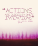 Hadith: Actions and intentions
