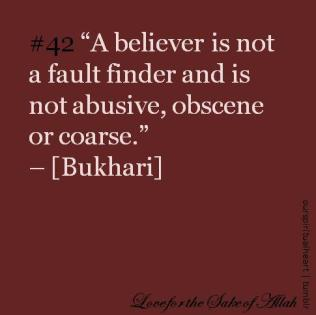 Hadith: Attributes of a beliver