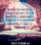 Hadith: Be kind