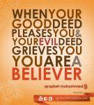 Hadith: Your deeds