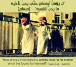 Hadith: Love for your brother/sister