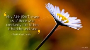 Wisdom: Hardship and ease