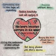 Wisdom: The corrupt heart