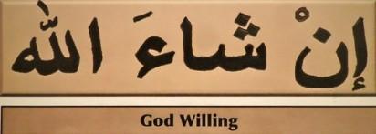 Inspiration: Inshallah