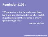 Inspiration: Nouman Ali Khan and the Teacher