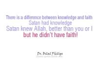 Wisdom: Knowledge and faith