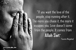 Love is from Allah