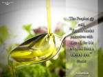 Hadith: Olive oil