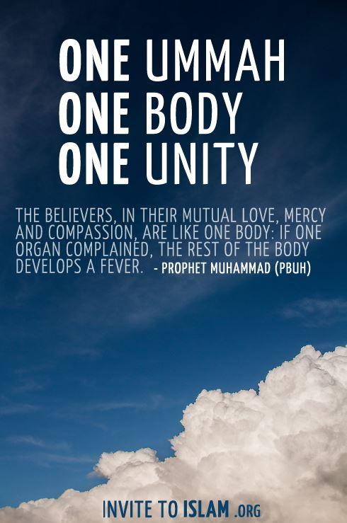 Importance of unity of muslim ummah