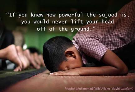Hadith: Power of Sujood