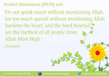 Hadith: Remember Allah