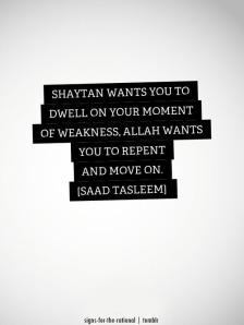 Wisdom: Shaytan wants