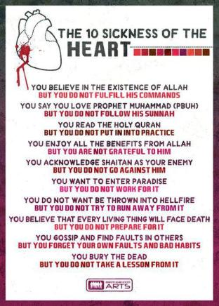 Sickness of the heart