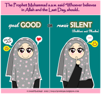Hadith: Speak good