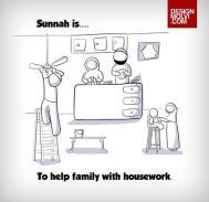 Sunnah: To help family