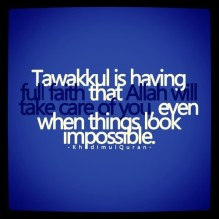 Inpiration: Tawakkul