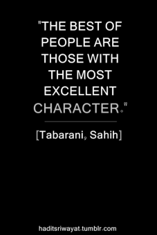 Hadith: The best of people