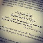 The guidance of Allah
