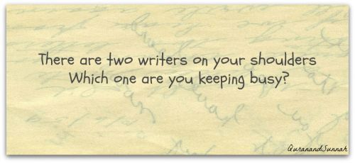 Inspiration: Two writers
