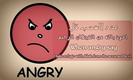 When angry