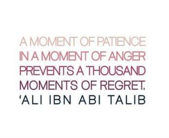 Wisdom: Ali Ibn Abi Talib and a moment of patience
