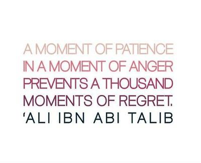 Wisdom: Ali Ibn Abi Talib and a moment of patience