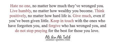 Wisdom: Ali Ibn Abi Talib