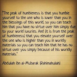 Wisdom: Humbleness