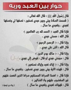 Hadith: Wisdom of Surat Al Fatiha in prayers
