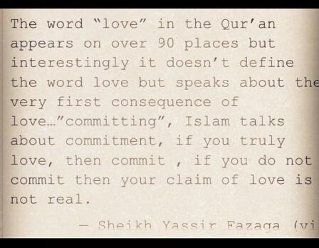 Wisdom Sheikh Y Ir And Love In The Quran