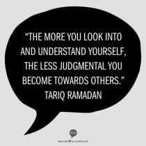 Wisdom: Tariq Ramadan and judgement