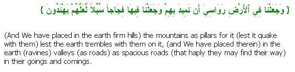 Surat Al Anbiyaa: Ayah 31