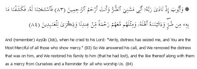 Surat Al-Anbiya 21: Ayah 83-84